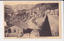 43 Monistrtol D' Allier Vue Prise De La Route Du Puy Voie De Chemin De Fer - France