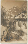 Sous La Neige, Swiss View, 1909 Postcard - Unclassified