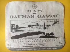 5810 - Mas De Daumas Gassac Pays De L'Hérault Haute Vallée Du Gassac 1989 - Languedoc-Roussillon