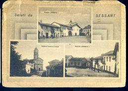 Cpa D' Italie Asti -- Saluti Da Sessant  SEP17-58 - Asti