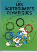 Les Schtroumpfs Olympiques PEYO (véritable EO, Antérieure à L'édition Dupuis) - Schtroumpfs, Les