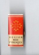 PIN'S . Région Midi-Pyrénées . Armoirie . Blason - Réf. N°2PN - - Pin