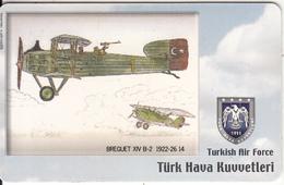TURKEY(chip) - Airplane, Breguet XIV B-2 1922-26 14(50 Units), Used - Avions