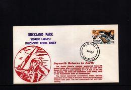 Australia Raumfahrt / Space 1974 Buckland Park Interesting Cover - Ozeanien