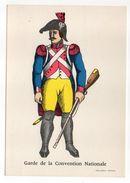 Histoire--Collection D'uniformes--Garde De La Convention Nationale (soldat)  --Imagerie Pellerin Epinal - Histoire