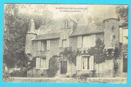 CPA ST GEMAIN DE TALLEVENDE Le Château St Clair Canton De Vire - France