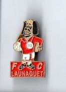 PIN'S . FOOTBALL . F. C. LAUNAGUET - Réf. N°4PN - - Football