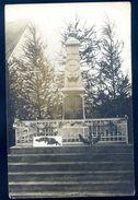Cpa  Carte Photo D' Hannogne St Martin Monument Aux Morts  SEP17-58 - Altri Comuni