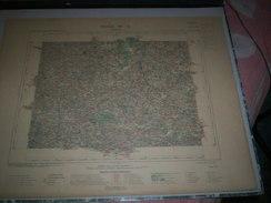 CARTE GEOGRAPHIQUE _ G - Format  45 X 71  De ILLE Et VILAINE_COTES Du NORD_Feuille LAMBALLE_VII_ 15 ) En 1899 - Geographische Kaarten