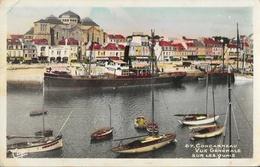 Concarneau - Vue Générale Sur Les Quais - Bateau Bidassoa à Quai - Carte CAP Colorisée N° 67 - Concarneau