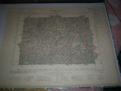 CARTE GEOGRAPHIQUE _ G - Format  45 X 57  De COTES Du NORD_ILLE Et VILAINE_Feuille DINAN_VIII_ 15 ) En 1904 - Geographische Kaarten