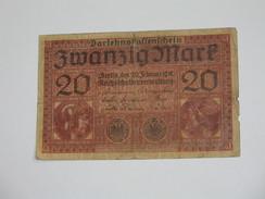 20 Mark - Zwanzig  Mark -  1918  - Germany  **** EN ACHAT IMMEDIAT **** - [ 2] 1871-1918 : German Empire