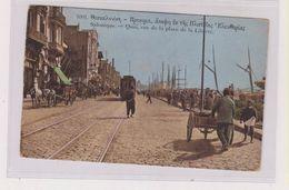 GREECE SALONIQUE TRAMWAY Nice Postcard - Greece