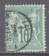 France: Yvert N° 65°; Cote 20.00€ - 1876-1878 Sage (Type I)