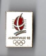 PIN'S . JEUX OLYMPIQUE D'HIVER . ALBERVILLE 1992 . FRANCE - Réf. N°7PN - - Jeux Olympiques
