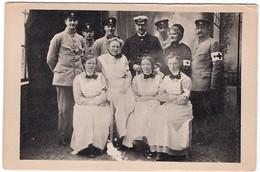 Das Sanitäta-Personal Am Dampfer Aeolus Rotes Kreuz Red Cross - Weltkrieg 1914-18