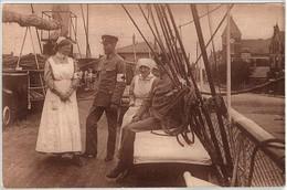 Das Sanitäta-Personal Am Dampfer Aeolus Rotez Kreuz Red Cross - Weltkrieg 1914-18