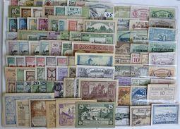 BANCONOTA NOTGELD PCS 100 PZ ANTICHI STATI RARE LOT OLD BANKNOTES 100 YEARS (45) - Autriche