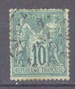 France: Yvert N° 76°; Cote 280.00€ - 1876-1898 Sage (Type II)