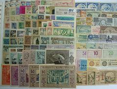 BANCONOTA NOTGELD PCS 100 PZ ANTICHI STATI RARE LOT OLD BANKNOTES 100 YEARS (105) RARE - Autriche