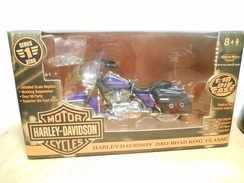 Harley-davidson 1:18  2003 Road King Classic - Motorcycles