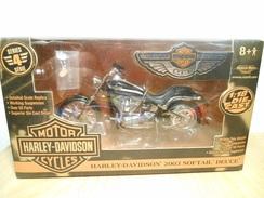 Harley-davidson 1:18  2003 Softail Deuce - Motorcycles