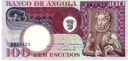 Angola P.106  100 Escudos 1973 Unc - Angola