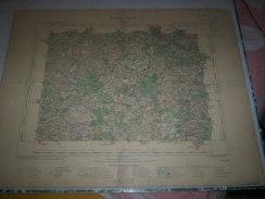 CARTE GEOGRAPHIQUE _ G - Format  45 X 57  De SARTHE_Feuille LE  MANS_XII_ 17 ) En 1903 - Geographische Kaarten