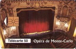 TARJETA TELEFONICA DE MONACO. (042) - Mónaco