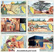 Chromo Liebig Sang. 1838 ITA Principali Stati Del Medio Oriente ANNO 1969 - Liebig