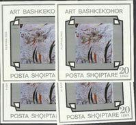 1993 Albania EUROPA CEPT EUROPE 4 Foglietti MNH** 4 Souv. Sheets - Albania