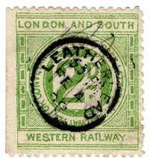 (I.B) London & South Western Railway : Letter 2d (Leatherhead) - 1840-1901 (Victoria)