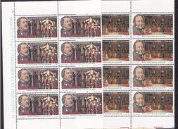 1992 San Marino Saint Marin GIACOMO ROSSINI 8 Serie Di 2v. MNH** Blocco - Musica