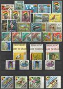 1967 Ghana ANNATA  YEAR 8 Serie Con 34v. (258/77, 293/306) MNH** - Ghana (1957-...)