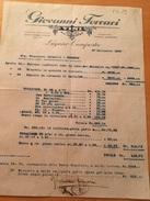 LUGANO-CAMPESTRE-27-9-1926-DITTA GIOVANNI FERRARI—VINI ALL'INGROSSO - Schweiz
