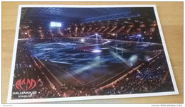 Cardiff Millenium Stadium Rugby Cartolina Stadio Postcard Stadion AK Carte Postale Stade Estadio - Calcio