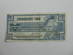 1 One Dollar - CANADIAN TIRE - Lasocièté Canadian Tire Limitée 1992    **** EN ACHAT IMMEDIAT **** - Canada
