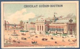 Chromo Chocolat Guerin-Boutron Exposition Universelle 1900 Le Grand Palais Facade Principale Paris - Guerin Boutron
