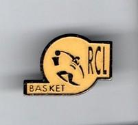 PIN'S . R. C. L. BASKET - Réf. N°14PN - - Basketball