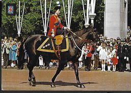 ! - Grande-Bretagne - London - Reine Elisabeth II à Cheval - - Autres