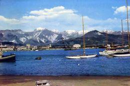 Marina Di Carrara - Il Porto E Le Apuane - Formato Grande Viaggiata – E 3 - Carrara