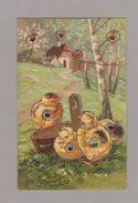 Joyeuses Pâques - Poussins - Paillettes Et Brillants - Pasqua