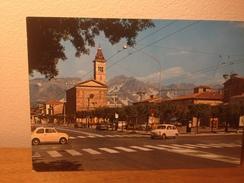 Cartolina Marina Di Carrara Piazza Gino Menconi Fiat 500,fiat 600 Non Viaggiata Cars - Carrara