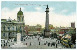 HULL : NEW CITY SQUARE AND TOWN HALL - Hull