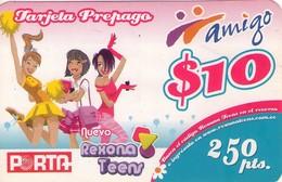 TARJETA TELEFONICA DE ECUADOR (PORTA-AMIGO), REXONA. (751) - Ecuador