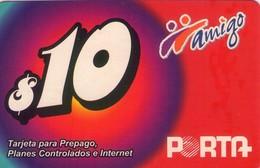 TARJETA TELEFONICA DE ECUADOR (PORTA-AMIGO) (754) - Ecuador