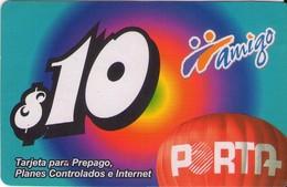 TARJETA TELEFONICA DE ECUADOR (PORTA-AMIGO) (755) - Ecuador