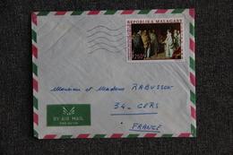 Lettre De MADAGASCAR à FRANCE - Madagascar (1960-...)