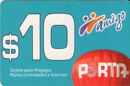 TARJETA TELEFONICA DE ECUADOR (PORTA-AMIGO) (756) - Ecuador