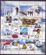 AAT 2001, Antarctic Centenary 20v M/s - Territorio Antártico Australiano (AAT)